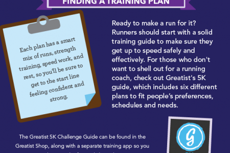 How To Run Your Best 5K Infographic