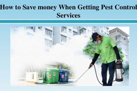 How to Save money When Getting Pest Control Services Infographic