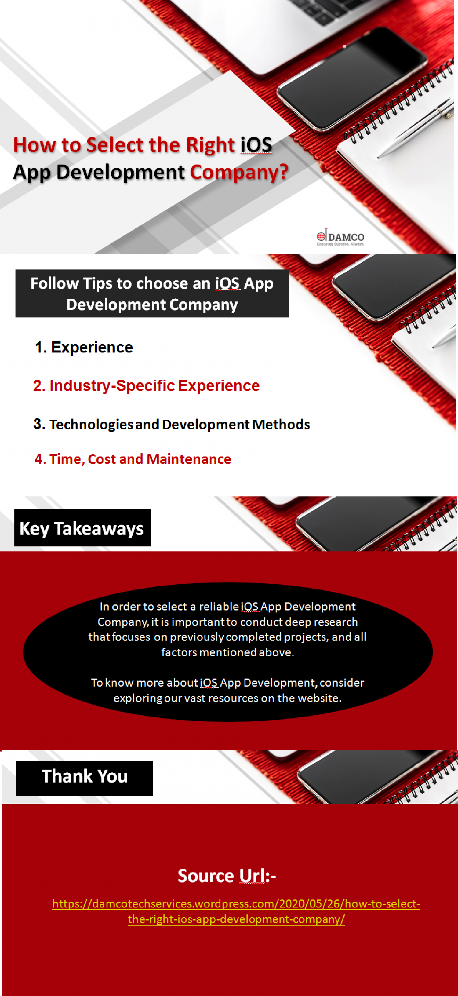 How to Select the Right iOS App Development Company? Infographic