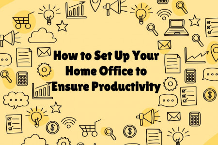 How to Set Up Your Home Office to Ensure Productivity Infographic