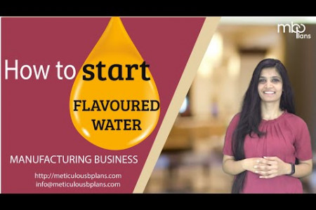 How to start FLAVOURED Water Manufacturing Business? [PROFITABLE Food Processing Business] Infographic