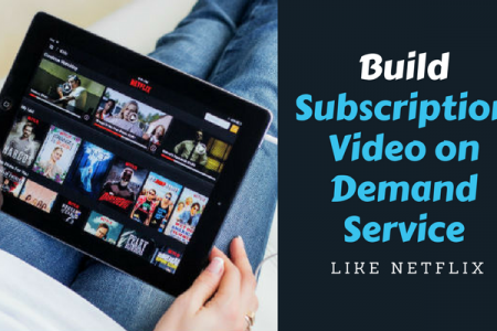 How to Start Subscription Video on Demand Website Like Netflix, Hulu, Amazon Prime and Hotstar? Infographic