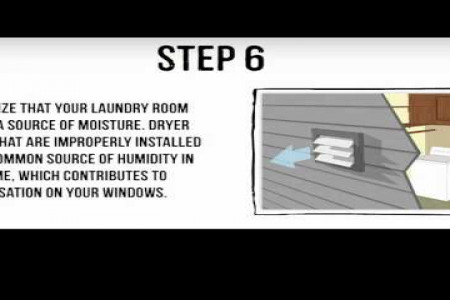 How to stop condensation on windows Infographic