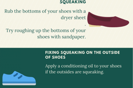 How to stop shoes from squeaking  Infographic