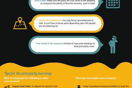How To Survive a Stag Do for Beginners Infographic