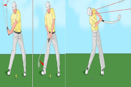How to swing a Golf Club-Beginner to Pro Infographic