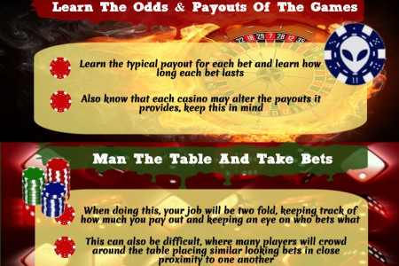 How to Take Bets At Casino Infographic