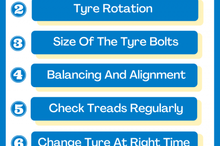 How to take good care of your car tyres? Infographic