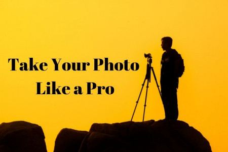 How to take photos like a pro Infographic