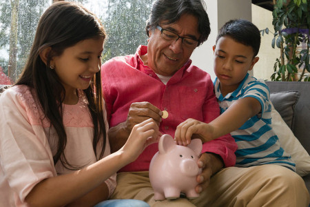 How to Teach Your Child Financial Literacy Infographic