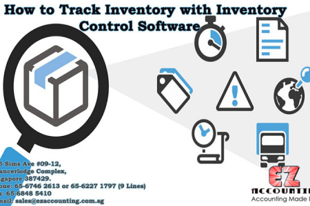 How to Track Inventory with Inventory Control Software Infographic