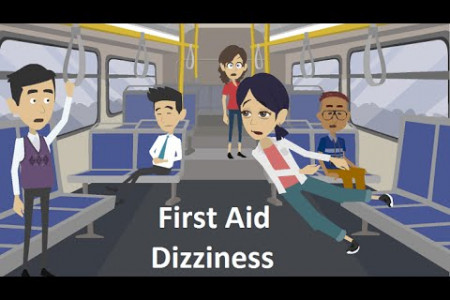 How to Treat Dizziness - First Aid Video Infographic