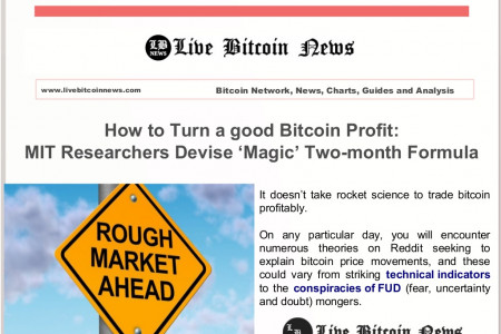 How To Turn A Good Bitcoin Profit Infographic