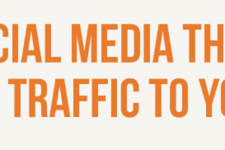How to Use Social Media Thought Leaders to Drive Traffic to Your Blog Infographic