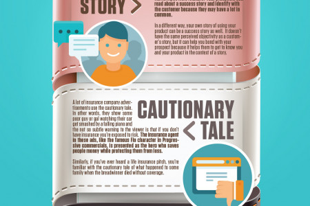How to Use Stories to Sell Like Crazy In Your Email Marketing Infographic