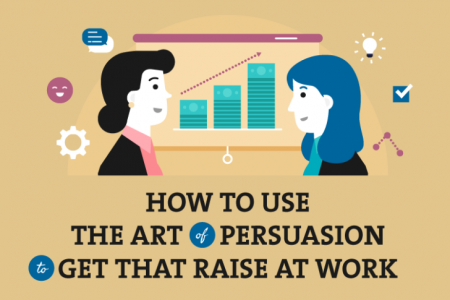 How to Use the Art of Persuasion to Get That Raise at Work Infographic