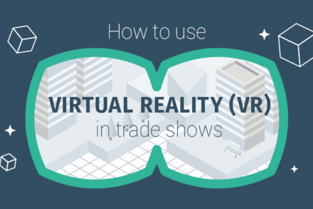 HOW TO USE VIRTUAL REALITY (VR) IN TRADE SHOWS Infographic