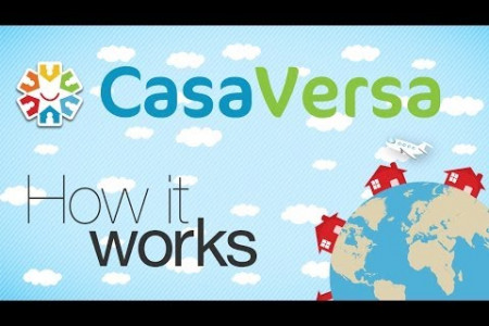 How to vacation with CasaVersa home exchange Infographic
