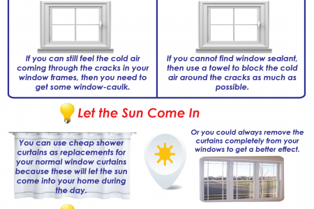 How to Warm up a Room Infographic