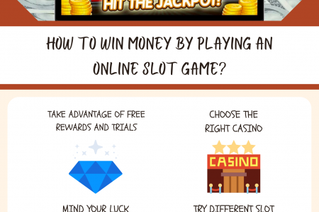 How To Win Money by Playing An Online Slot Game? Infographic