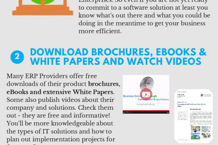 How To Window Shopping for IT Solutions Infographic