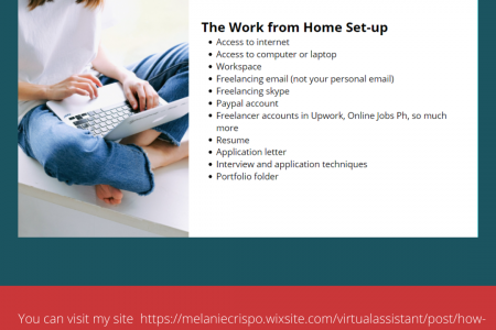 How to Work From Home as a Virtual Assistant in 2021 Infographic