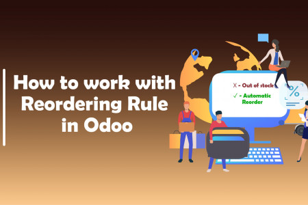 How To Work With Reordering Rule In Odoo ? | CandidRoot Solutions  Infographic