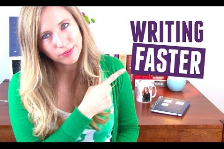 How to write faster? Infographic