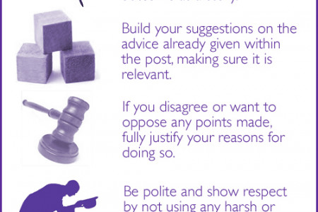 How to write the perfect blog comment that will draw attention to you Infographic