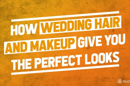 How Wedding Hair and Makeup Give You the Perfect Looks Infographic