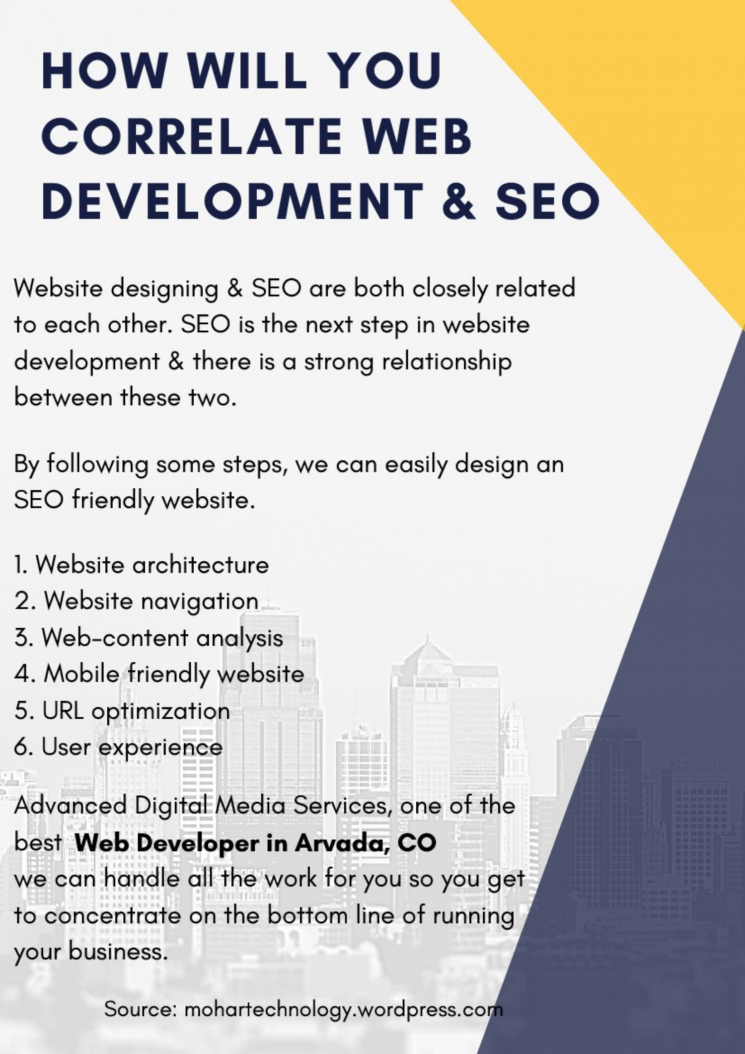 How Will You Correlate Web development & Search Engine Optimization Infographic