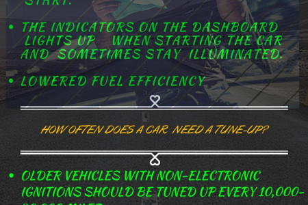 How Will You Know Whether Your Car Needs A Tune-up?  Infographic