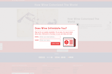 How Wine Colonized The World Infographic