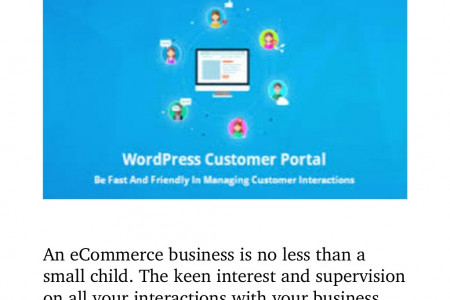How WordPress Client Portal Can Grow your Business? Infographic