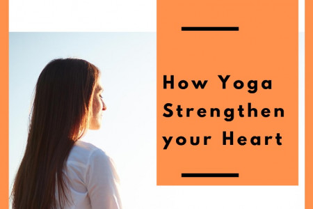 How Yoga Strengthen your Heart... Infographic