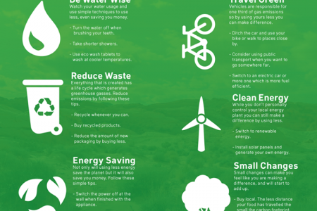 How You Can Stop Climate Change Infographic