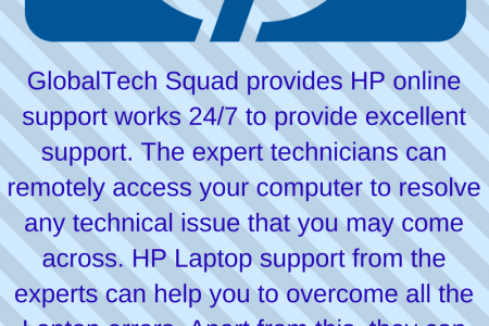 Hp Laptop Support Toll-Free:1-800-294-5907 Infographic