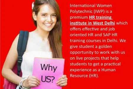 HR Training Institute in West Delhi Infographic