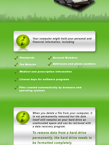 Why is Data Destruction So Important - Infographics Infographic