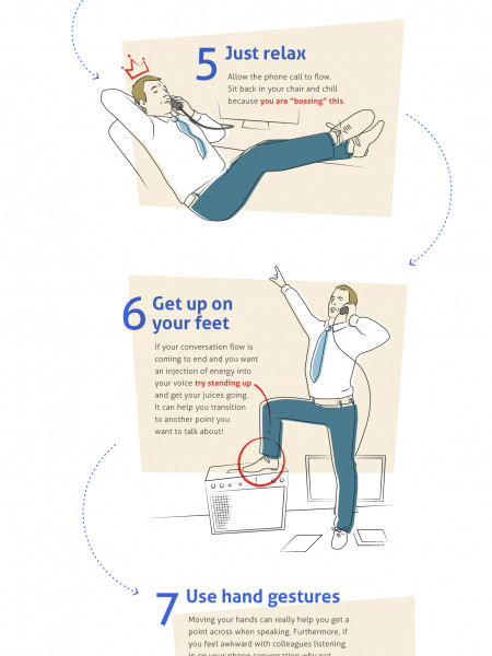How to Not Be Awkward on the Phone and Get What You Called For Infographic