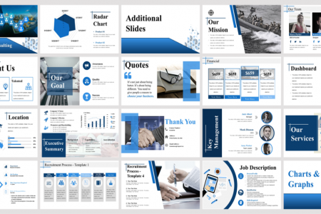 Human Resource Consulting Powerpoint Presentation Slides Infographic