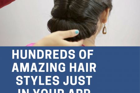 Hundreds of Hair Styles Infographic