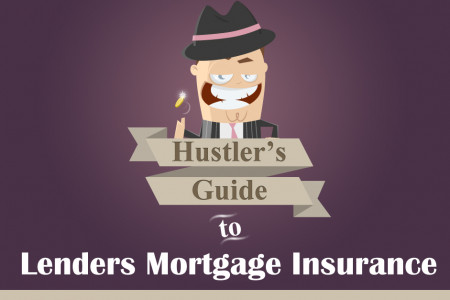Hustler's Guide to Lenders Mortgage Insurance Infographic