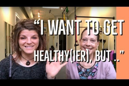 """I Want to Get Healthy(ier), but …"" Infographic"