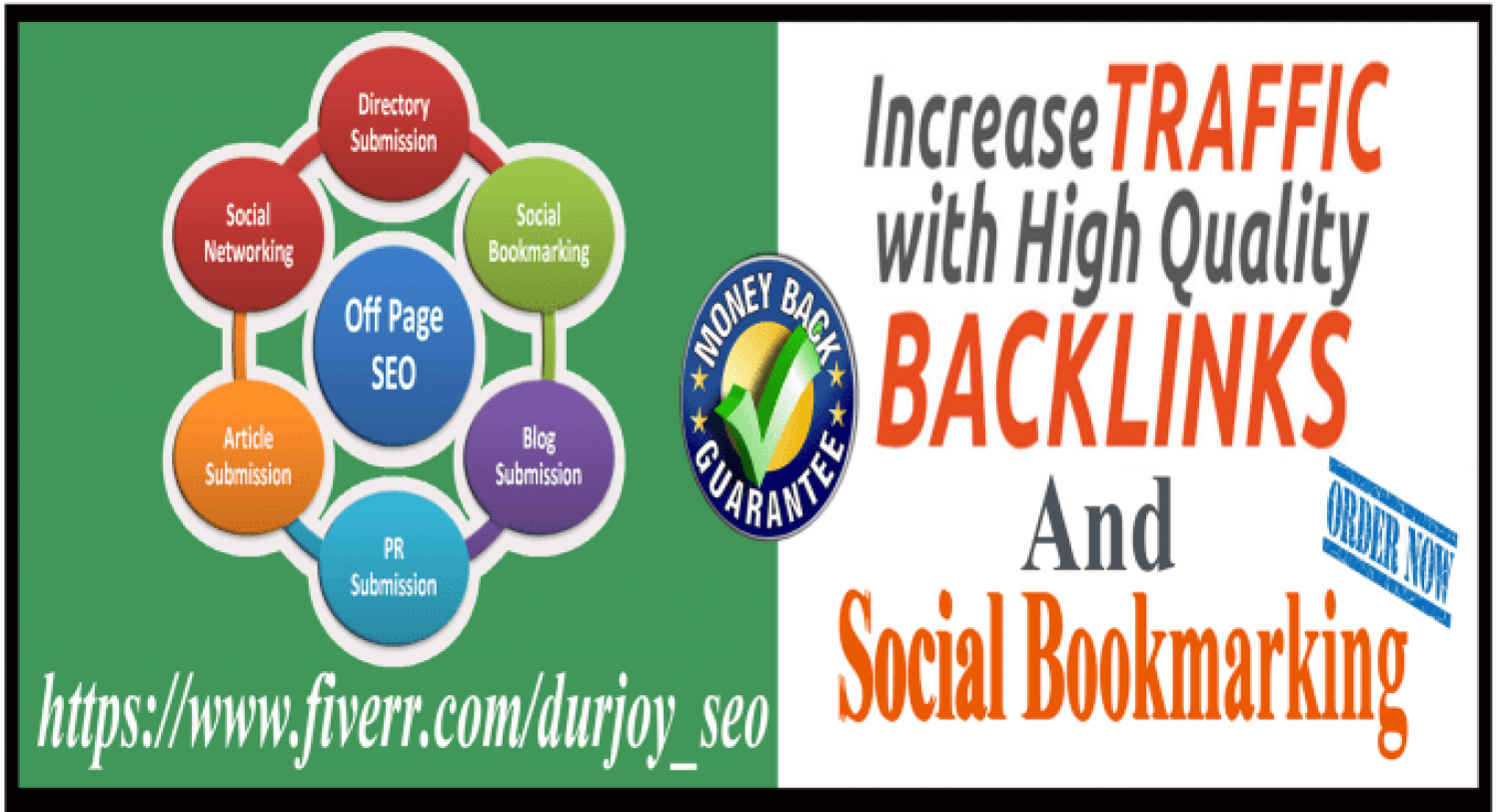 I will create SEO backlinks, page in google  Infographic