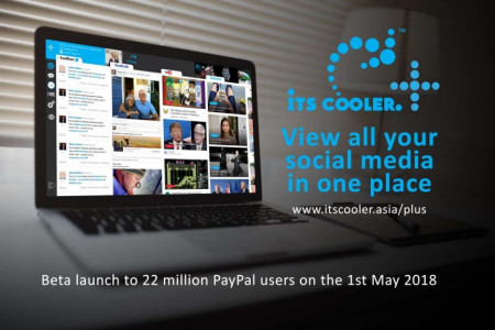 iTS COOLER PLUS - All in One Social Media Website Infographic