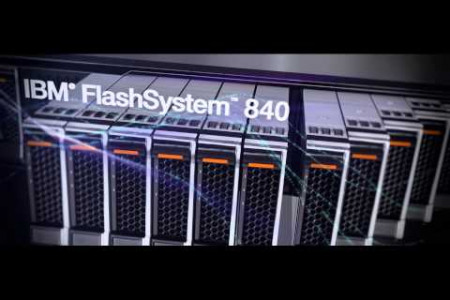 IBM FlashSystem 840 Infographic