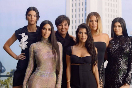 Iconic Kardashian Quotes – Keeping Up with the Kardashians Infographic