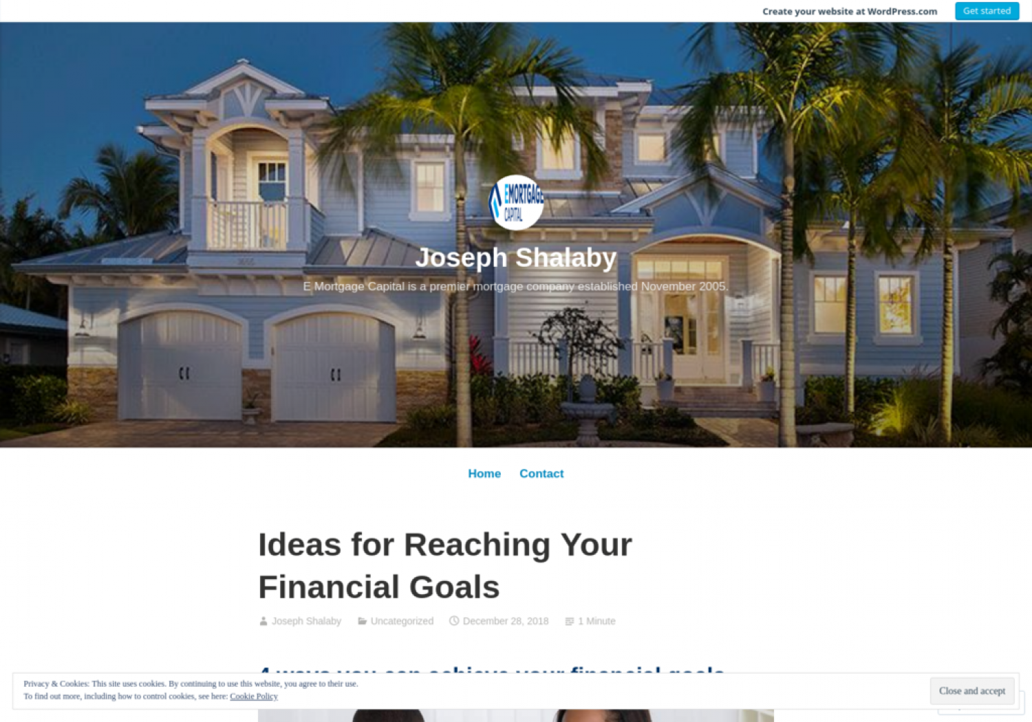 Ideas for Reaching Your Financial Goals - Joseph Shalaby Infographic