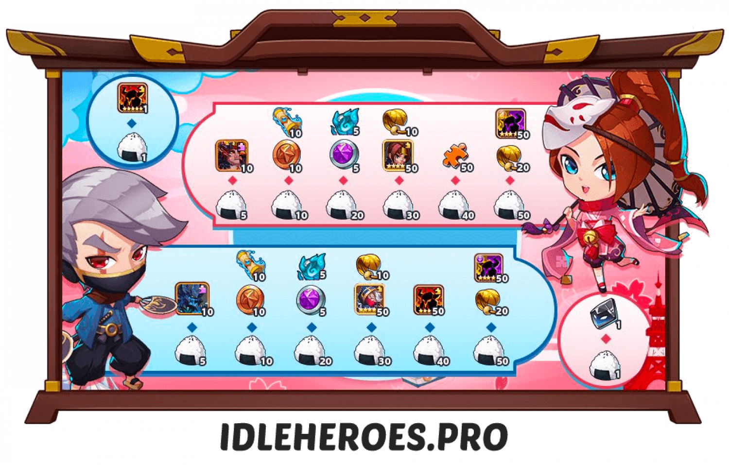Idle Heroes Events (Guides and Sneak Peeks) - Idle Heroes Pro Infographic